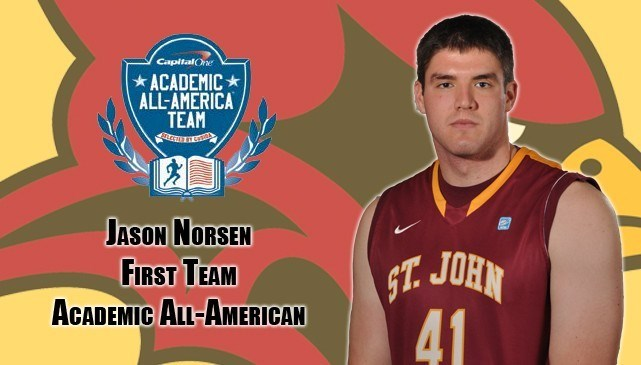 Fisher S Norsen Named To Academic All America First Team